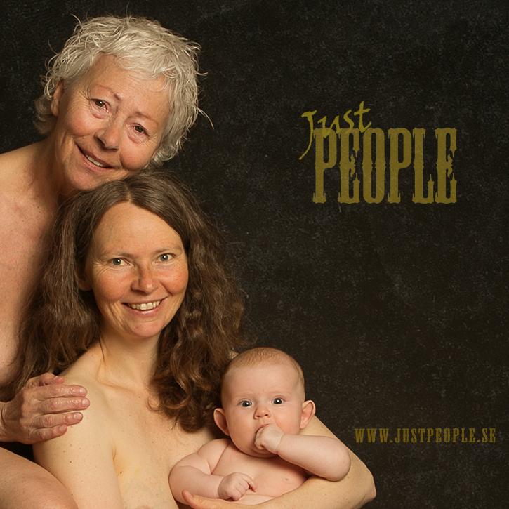 Just People - 3 generations women